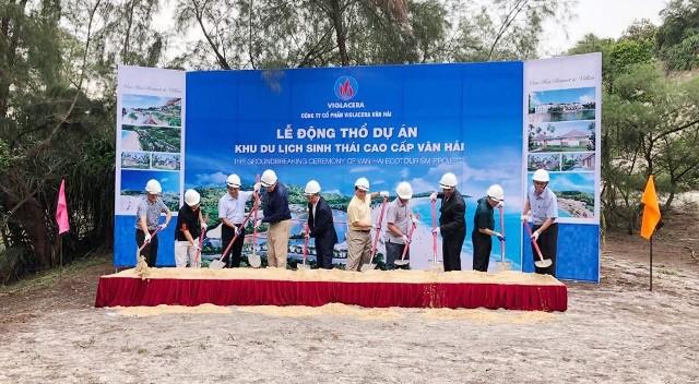 VIGLACERA động thổ xây dựng Dự án Khu du lịch sinh thái cao cấp Vân Hải – Quan Lạn, Quảng Ninh