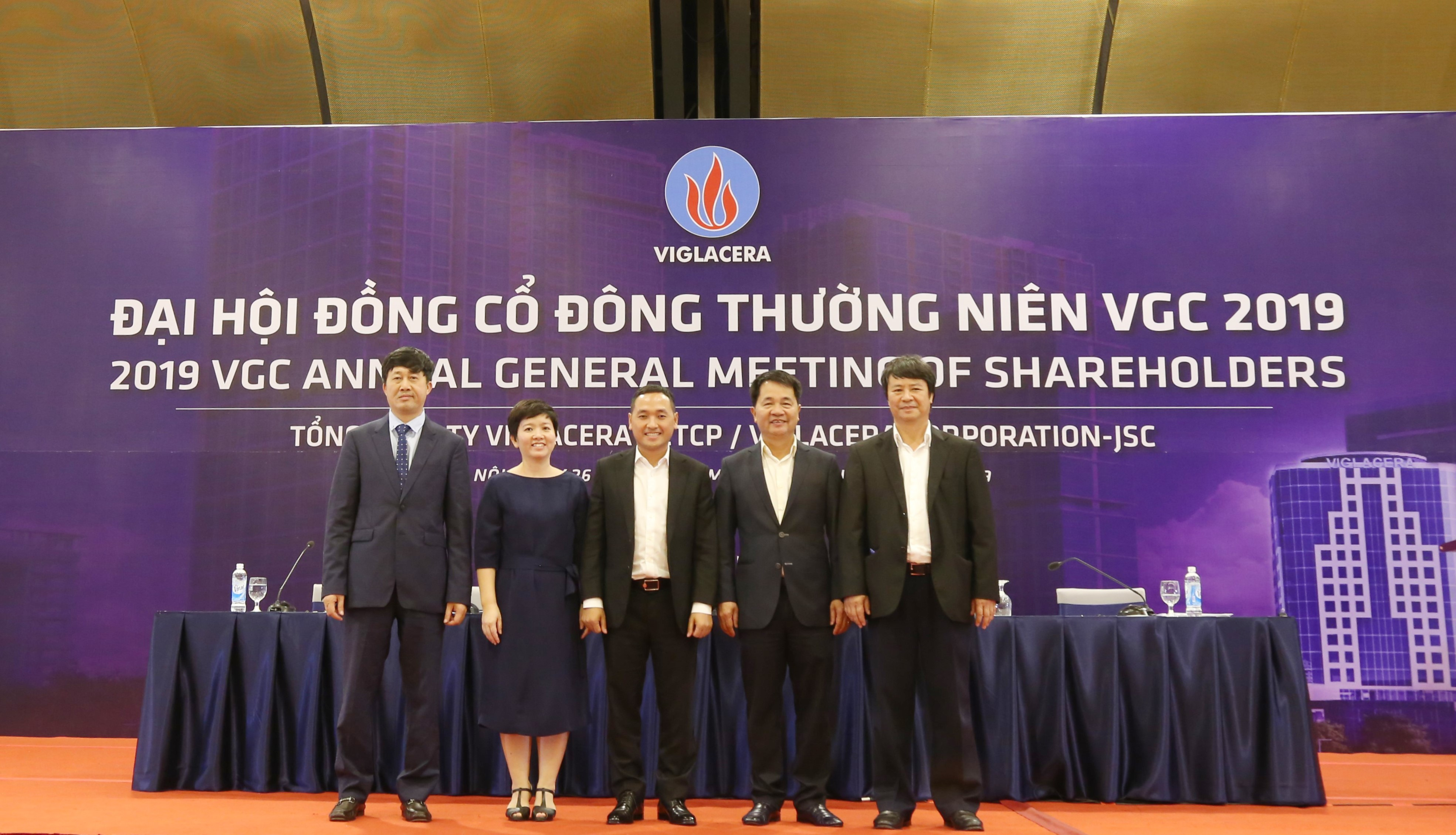 Annual Shareholders Meeting 2019 of Viglacera was successfully organized and set a good start for the new term 2019-2024.