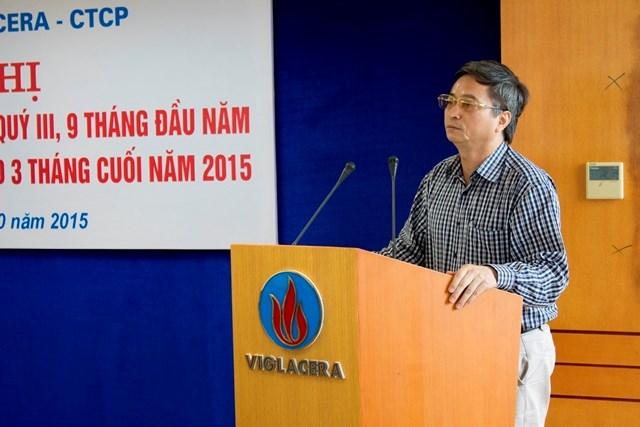 Viglacera: Hội thảo tổng kết quý III Năm 2015